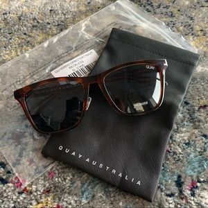 QUAY Reckless Tortoise Sunglasses NEW